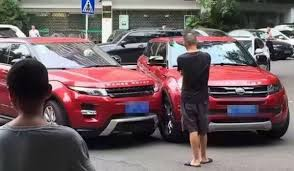 chrome range rover evoque this chinese range rover evoque copycat crashed embarrassingly