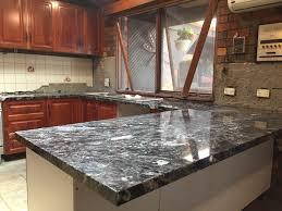 jet mist granite kitchen benchtop installation granite marella