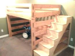 Bunk Bed Stairs With Drawers Diy Bunk Bed Stairs With Drawers 24kgoldgrams Info