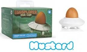 ceramic egg dish mustard eggsplorer egg cup novelty spaceship ceramic egg dish