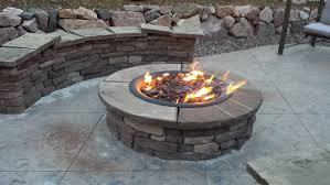 amazon com diy create convert existing wood fire pit to propane