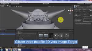android studio vuforia tutorial augmented reality 3d vuforia unity tutorial part 1 youtube