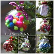 homemade christmas ornaments handmade kids art