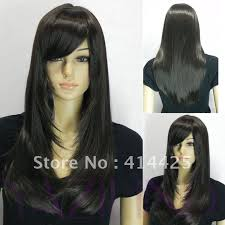 long hair styles with swoop bangs black hair straight long hair with side swept bangs google search curly