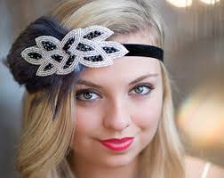 great gatsby hair accessories popular gatsby hair accessories weddings