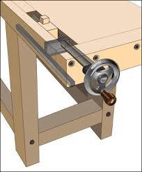 Wooden Bench Vise Screws by Woodworking Vise Benchcrafted Tail Vise Hardware Lee Valley