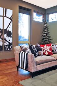 Modern Christmas Home Decor Decorating With Style Christmas Home Tour Part 1 600 Giveaway