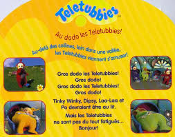 collectif au dodo les teletubbies illustrated books books