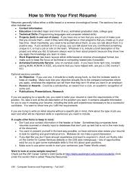 how to write a cover letter and resume format template sample d