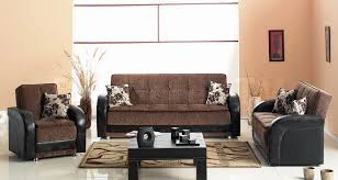 Armchair Sofa Beds Sofa Beds Utica Crocodile Like Bycast Leather And Brown Fabric
