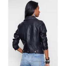 padded leather motorcycle jacket denim u0026 supply ralph lauren faux leather motorcycle jacket in