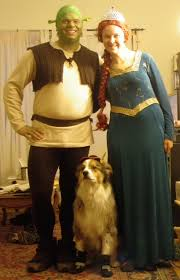 Shrek Halloween Costumes Adults Rob Ing Homemade Ish Shrek Costume