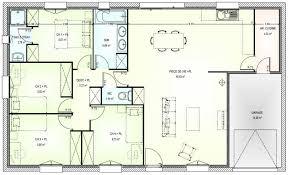 plan maison de plain pied 3 chambres plan maison une chambre esquisse 3d plan de maison de plain pied