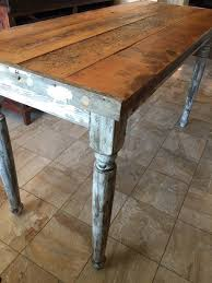 classic counter height table 66 farmhouse table 2 thick top
