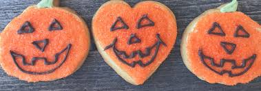 halloween pumpkin face cookies and treats superlove cookies