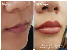 Eyebrow Tattoo Before And After Beautiful Lip Color Tattoo U2022 Monanisa Beauty