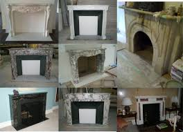 home design fireplace mantels new amp antique artistic marble