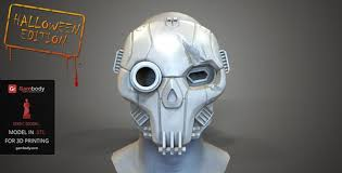 Halloween Costumes Mask 3ders Org 30 3d Printed Halloween Costumes Props