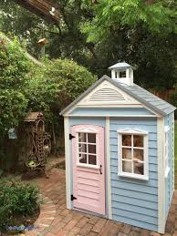 backyard playhouses beautiful cottage kits playhouses little