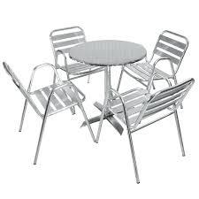 chaise bistrot alu chaise bistrot alu salon de jardin salon de jardin table et chaises