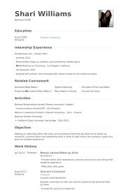 Artist Resume Examples by Beauty Advisor Resume Samples Visualcv Resume Samples Database