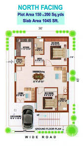 South Facing House Floor Plans 15 Vastu Plan For South Facing House Images East 1200 Sq Ft West