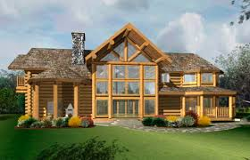 kootenai log home floor plan caribou creek timber bestofhouse