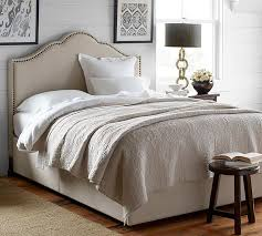 Upholstered Headboard Bed Frame Fallon Upholstered Headboard Storage Platform Bed