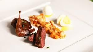 cuisine pigeon balsamic pigeon food channel