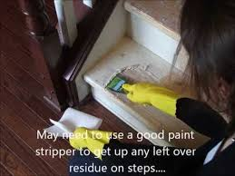 refinish hardwood stairs that were carpeted
