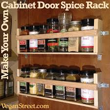 Kitchen Cabinet Door Spice Rack Make Your Own Cabinet Door Spice Rack Diy Home Pinterest