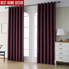 Drapes For Living Room by Online Get Cheap Red Blackout Curtains Aliexpress Com Alibaba Group