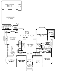 5 bedroom house plans floorplan 2 3 4 bedrooms bathrooms 3400 square feet dream inside 5