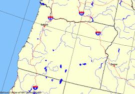 oregon maps map of oregon