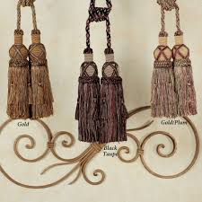 Tassels For Drapes Decorative Rods And Tiebacks Touch Of Class