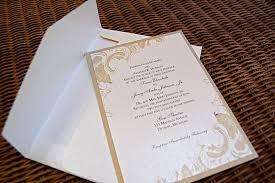 White And Gold Wedding Invitation Cards Gem Theatre Weddings Vintage Ivory U0026 Gold Panel Invitations Part