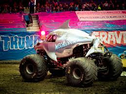 monster truck show allstate arena the world u0027s newest photos of jam and megalodon flickr hive mind