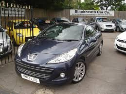 pejo second hand used 2012 peugeot 207 cc hdi cc allure for sale in blackheath