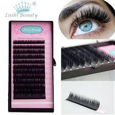 professional eyelash extension 1 0 07mm 3d volume mink eyelash extensions sets mixed eye