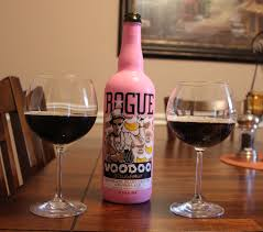 chocolate wine review rogue voodoo doughnut chocolate peanut butter banana ale review
