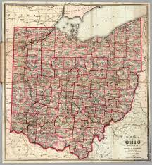 Cleveland Ohio Map by Ohio David Rumsey Historical Map Collection