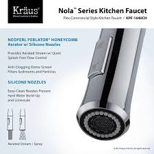 nola single lever kitchen faucet kpf 1640 by kraus yliving