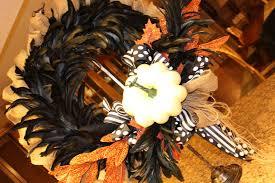 my sister u0027s crazy halloween wreath