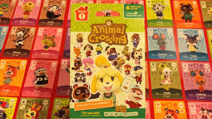 Trading Card Designer Amiibo Trading Cards Happy Home Designer Unwrapping 8 Packs Youtube