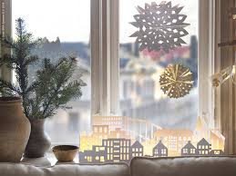Window Christmas Decorations by
