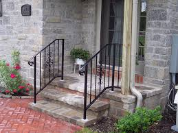 outdoor wrought iron stair railing design outdoor wrought iron