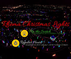 Lights All Night 2014 Lineup Home Page Rhema Bible Church