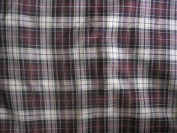 plaid tartan vintage fabric plaid madras tartan brown scottish hunting