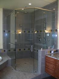 Angled Glass Shower Doors Frameless Heavy Glass Shower Doors Glassman Inc