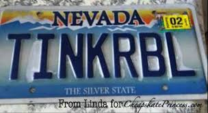 Make Your Own Vanity Plate A Personalized Disney Themed License Plate Can You Afford One